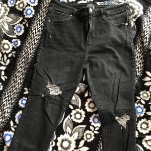 Abercrombie high rise super skinny jeans